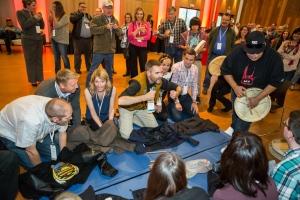 EDAC Opening Reception at the Kwanlin Dün Cultural Centre