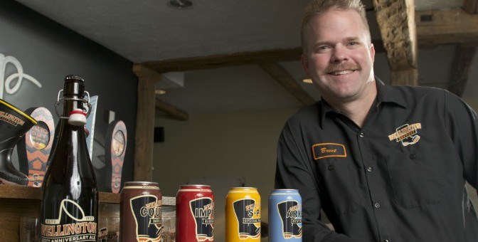 Ontario Craft Brewery Ramps Up Production with Growing Forward 2 funding