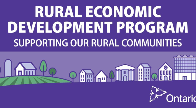 Intake 2 of the Rural Economic Development Program is Open for Applications