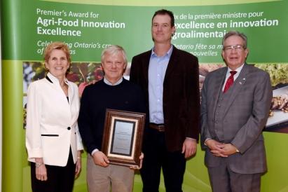 Premier's Award 2017 Greenbelt Microgreens