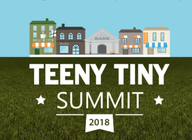 Teeny Tiny Summit with a Great Big Reach
