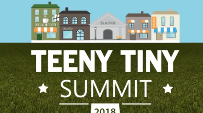 Teeny Tiny Summit with a Great Big Reach