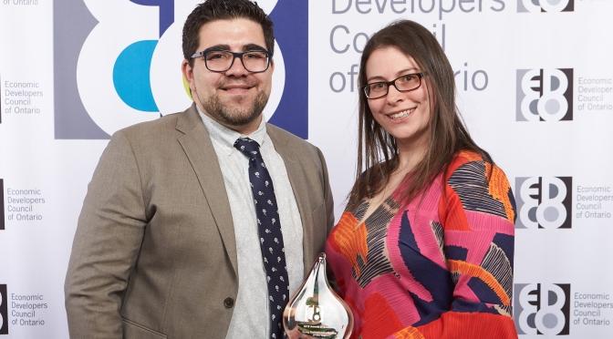 OMAFRA Advisor Catherine Oosterbaan takes home 2018 EDCO Award
