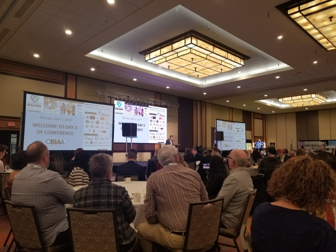 OBIAA 2019- Community Builders: Beyond Banners and Benches