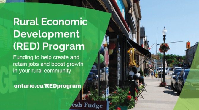 ONregionaleconomicdevelopment | Regional Economic Development Branch