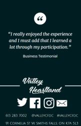 Valley Heartland BR+E participant testimony