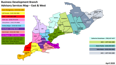 advisor map east and west