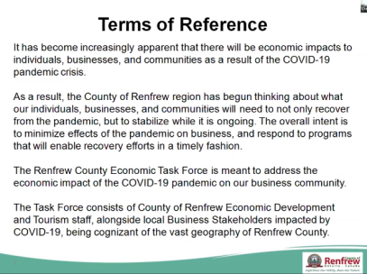 terms of ref.