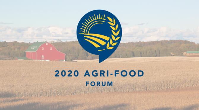 Updated agenda- 2020 Virtual Municipal Agriculture, Economic Development & Planning Forum