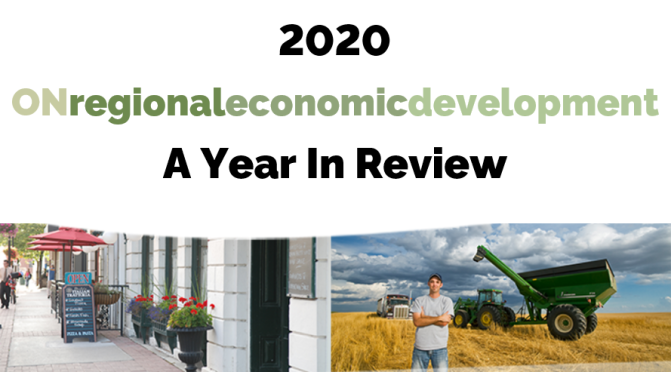 2020 Ontario Regional Economic Development: A Year In Review