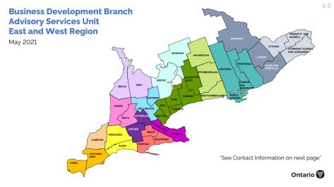 South Advisory Map